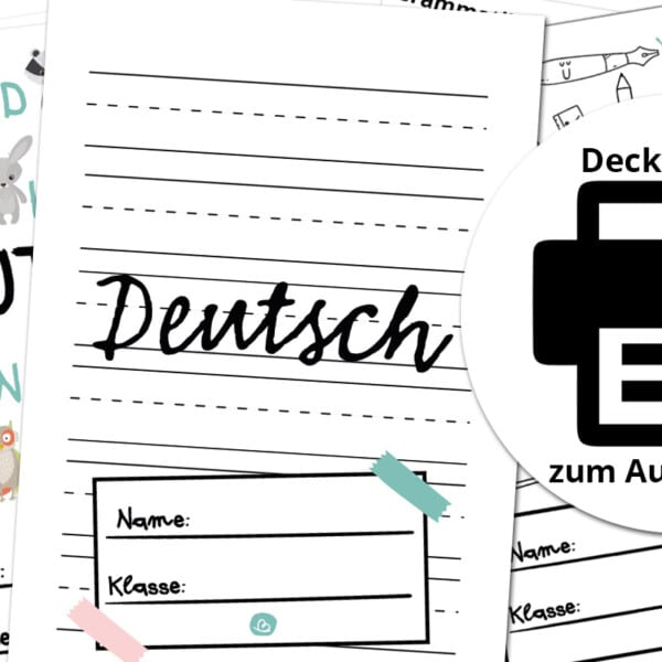 Deckblätter Deutsch