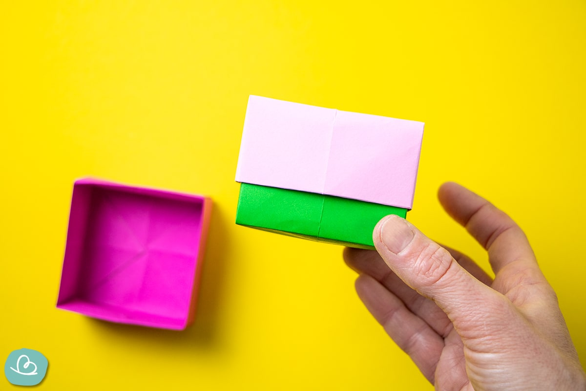 Origami Boxen basteln