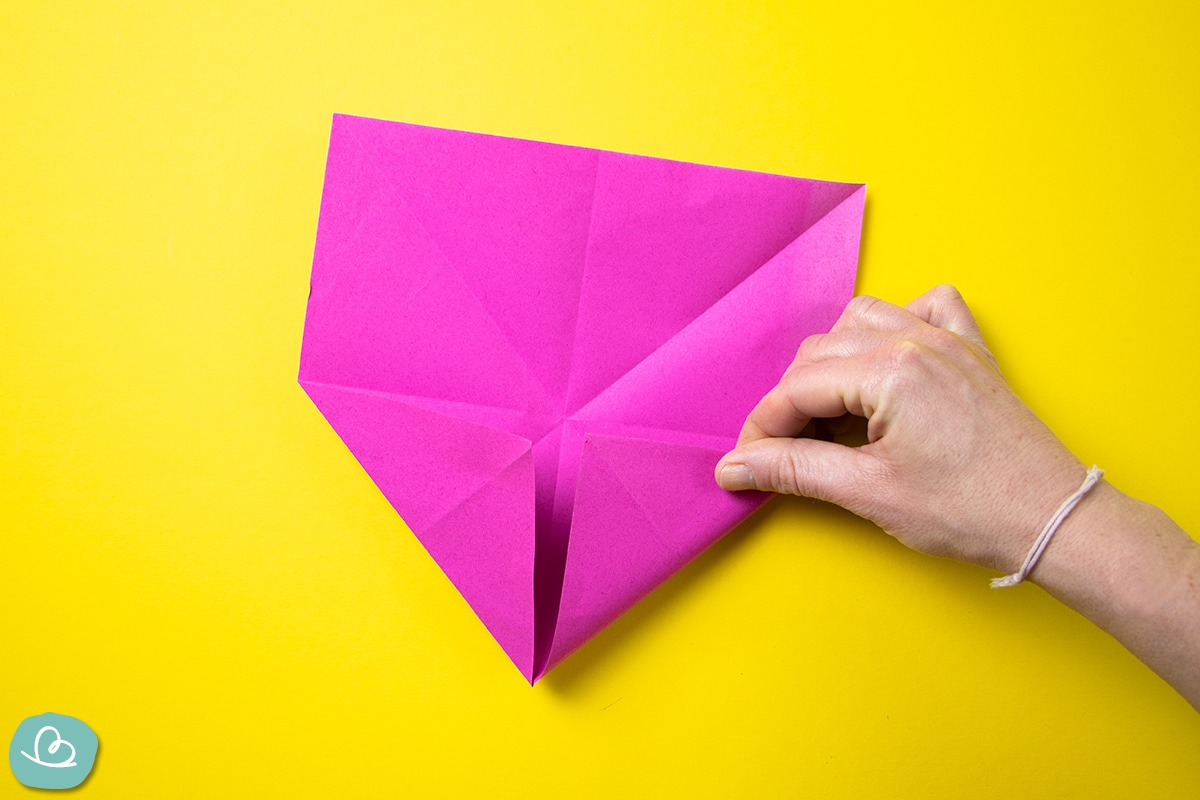 Origami Box falten.