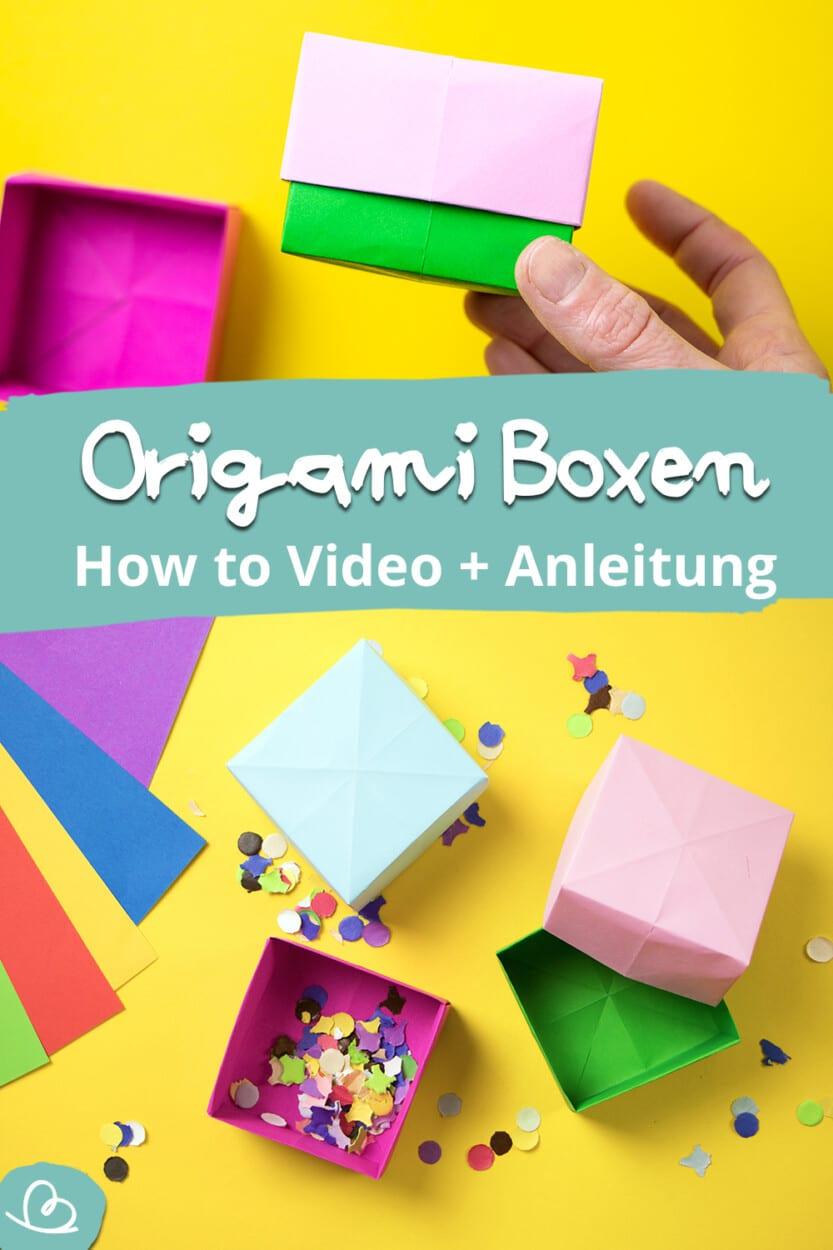 Origami Boxen Pinterest Pin