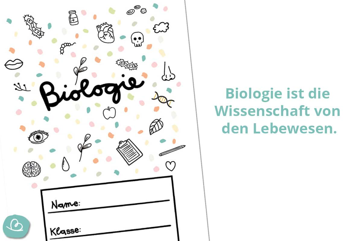 Biologie Deckblatt