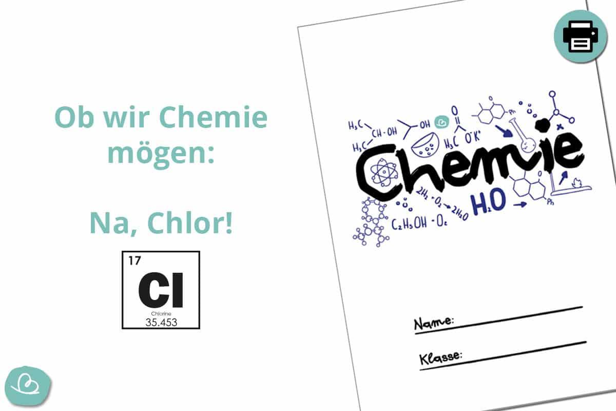 Deckblatt für Naturwissenschaft.