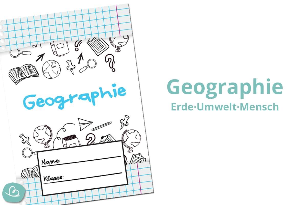 Geographie Deckblatt