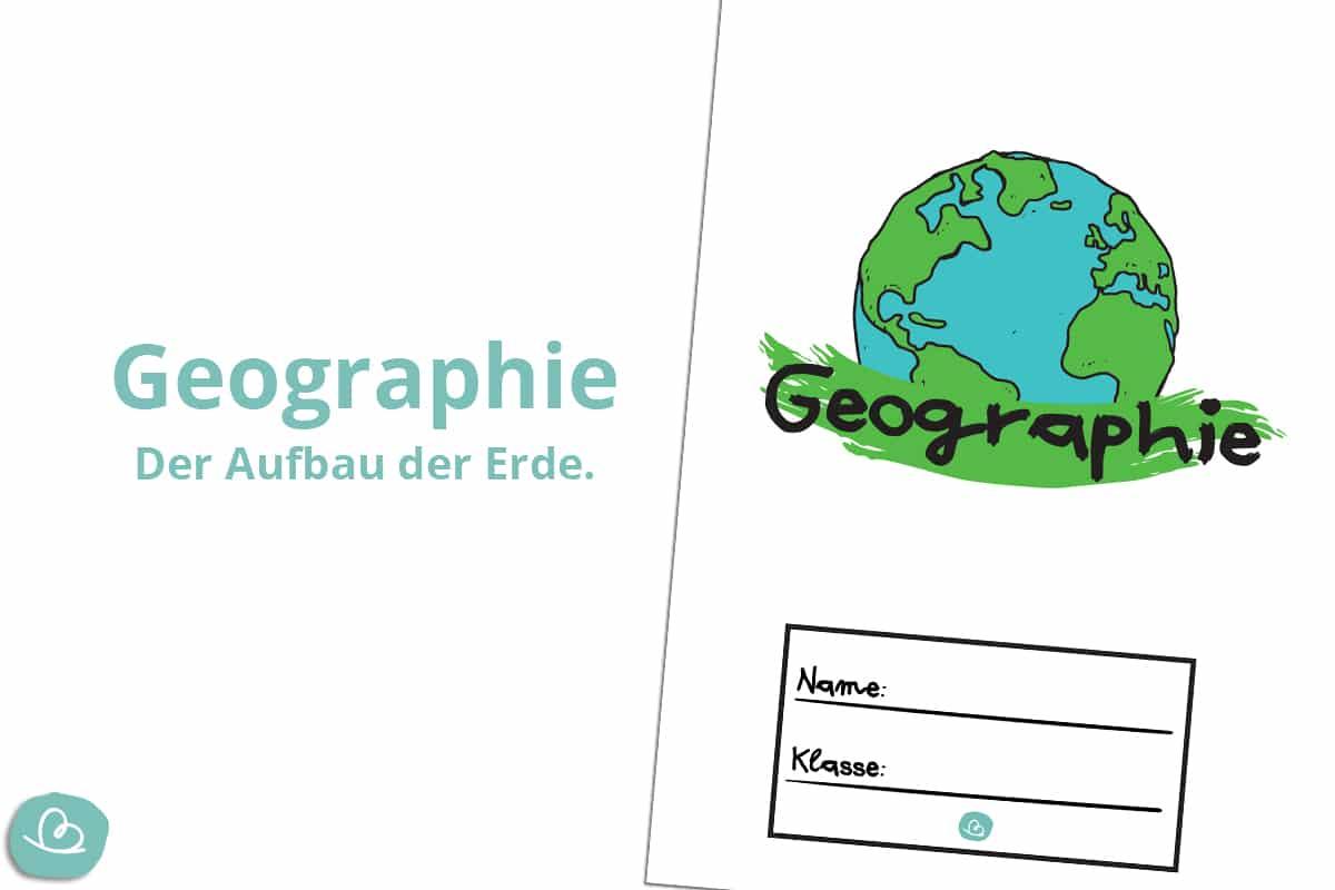 Deckblatt für Geografie.