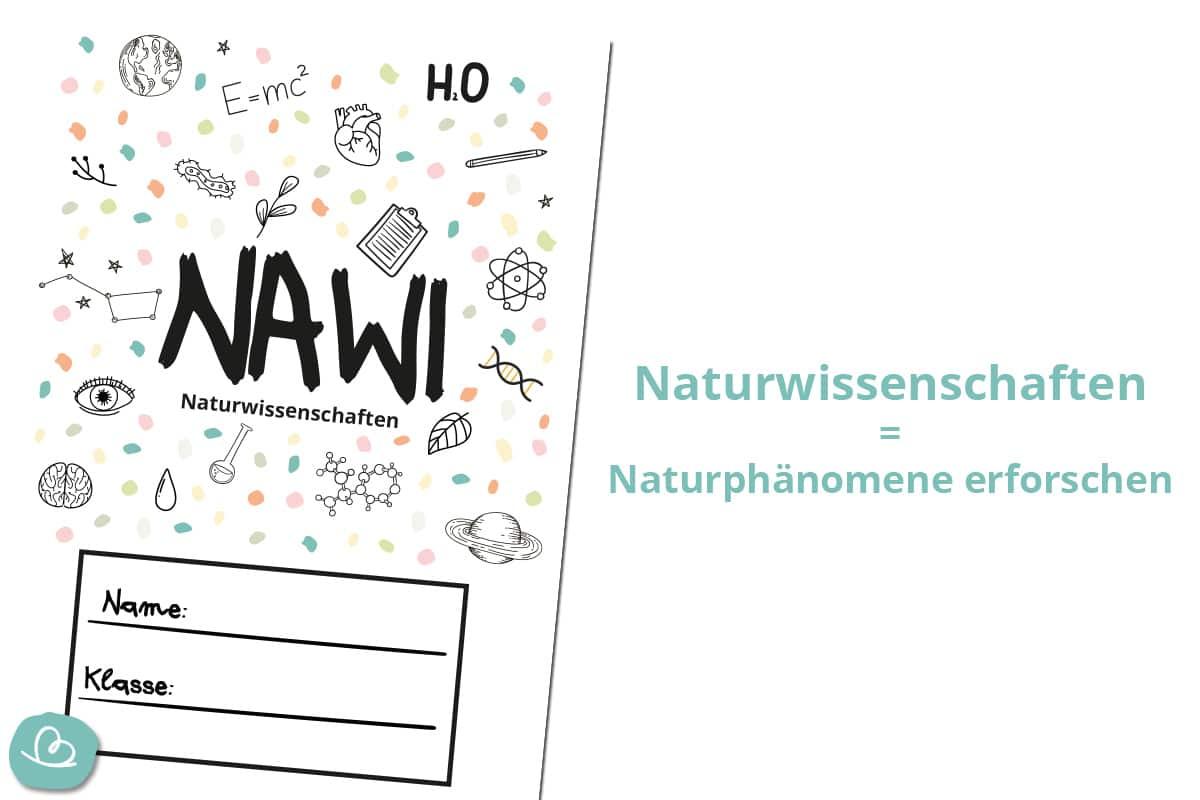 Naturwissenschaften Deckblatt