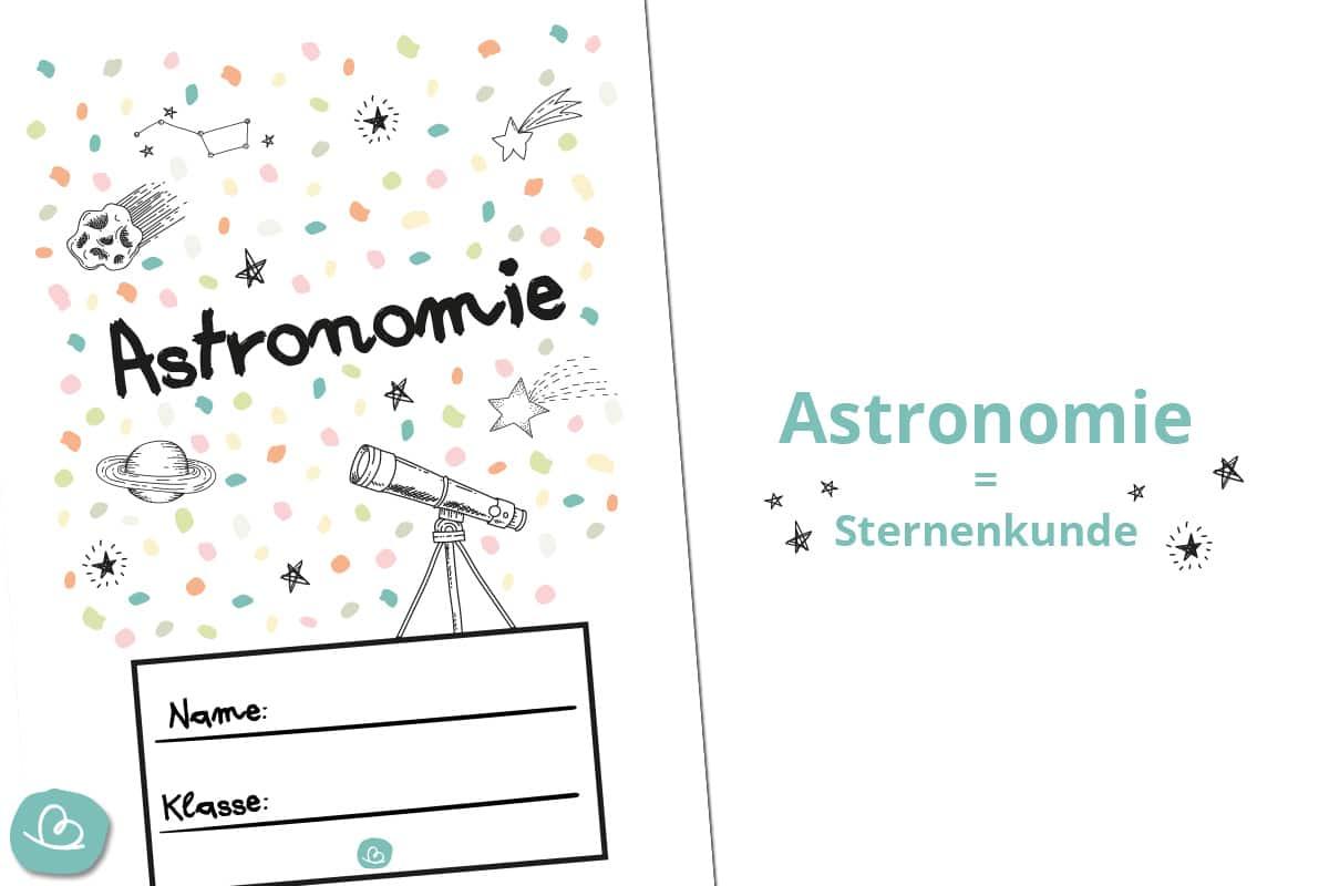 Druckvorlage Astronomie
