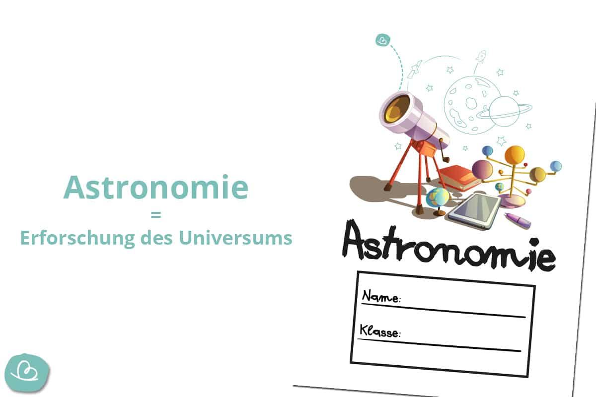 Astronomie Deckblatt