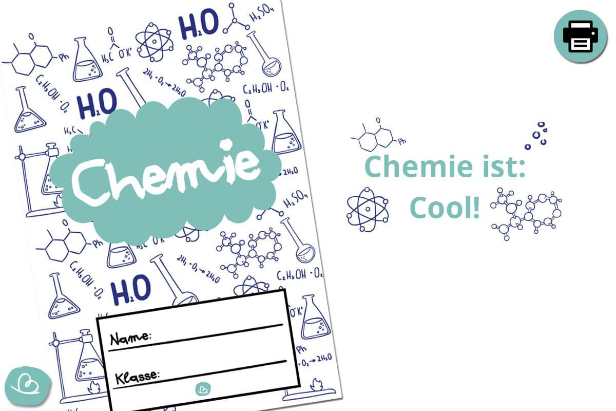 Druckvorlage für Chemie