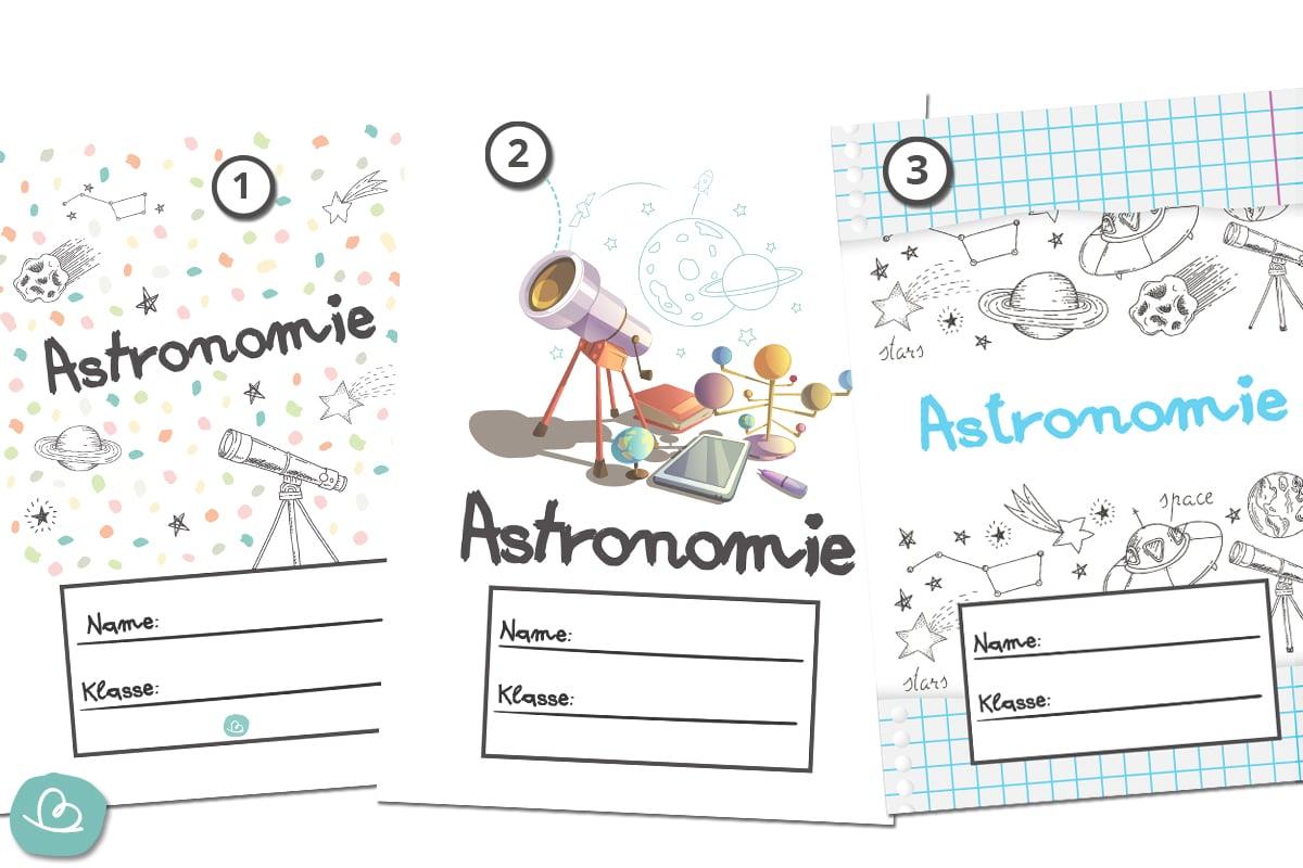 Deckblatt Astronomie