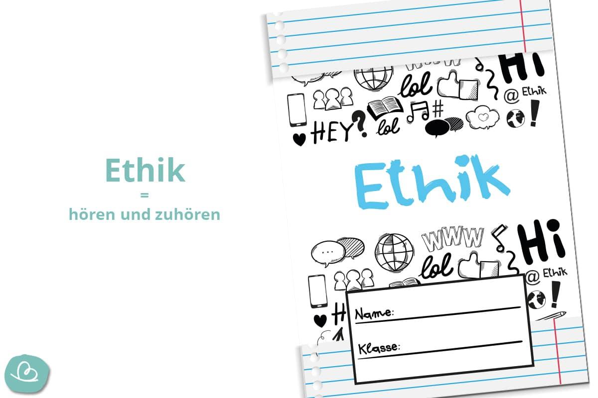 Ethikdeckblatt