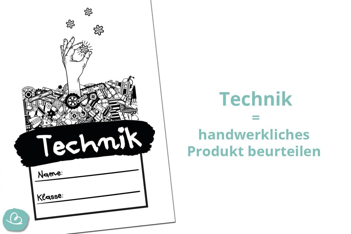 Deckblatt für Schule und Beruf