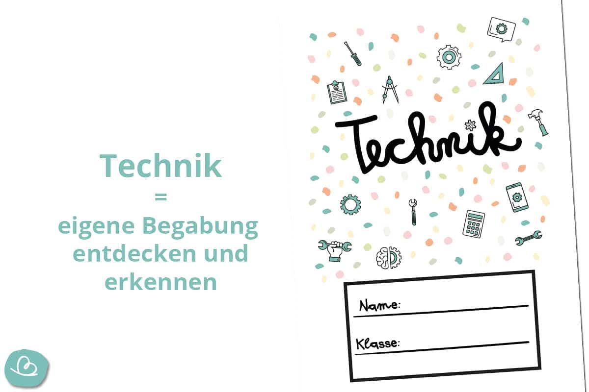 Technik Deckblätter.