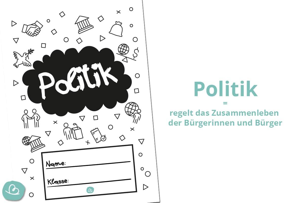 Politik Deckblatt