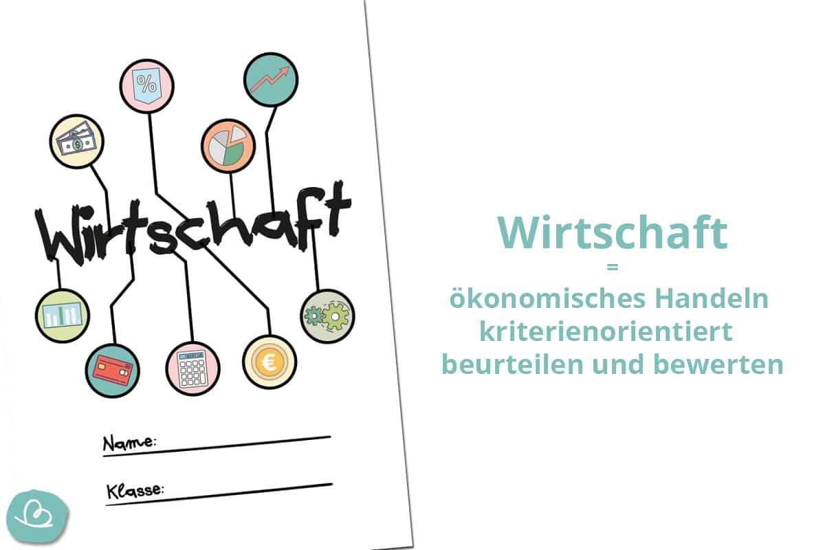 Wirtschaftsdeckblatt