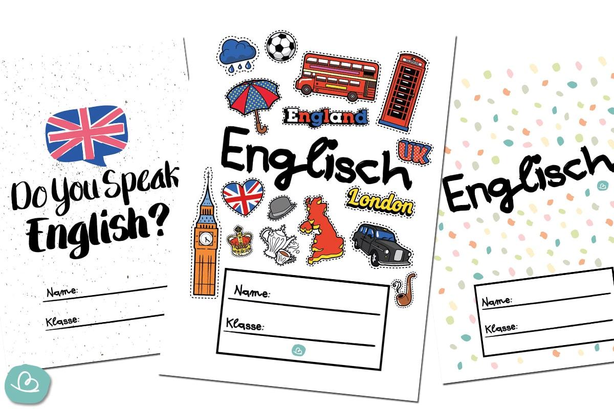 Deckblätter für Englisch