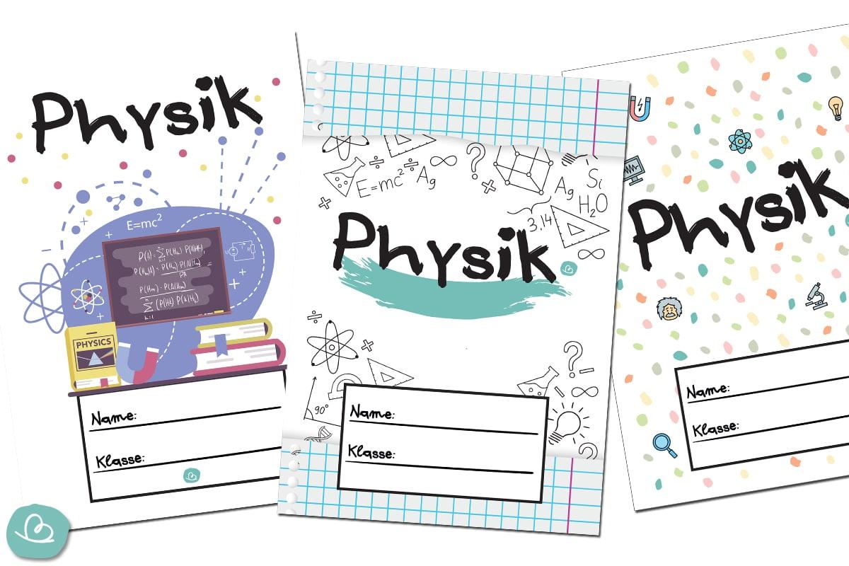 Deckblätter Physik