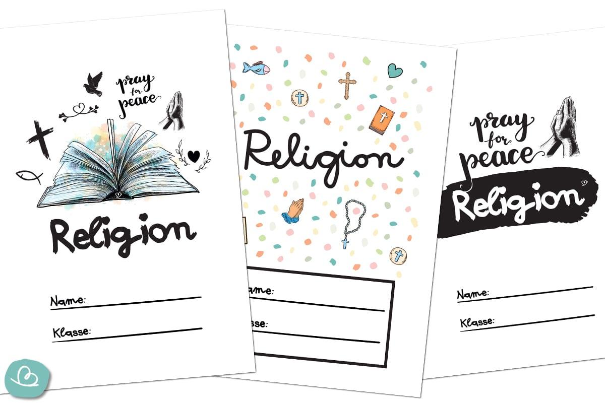 Deckblätter Religion