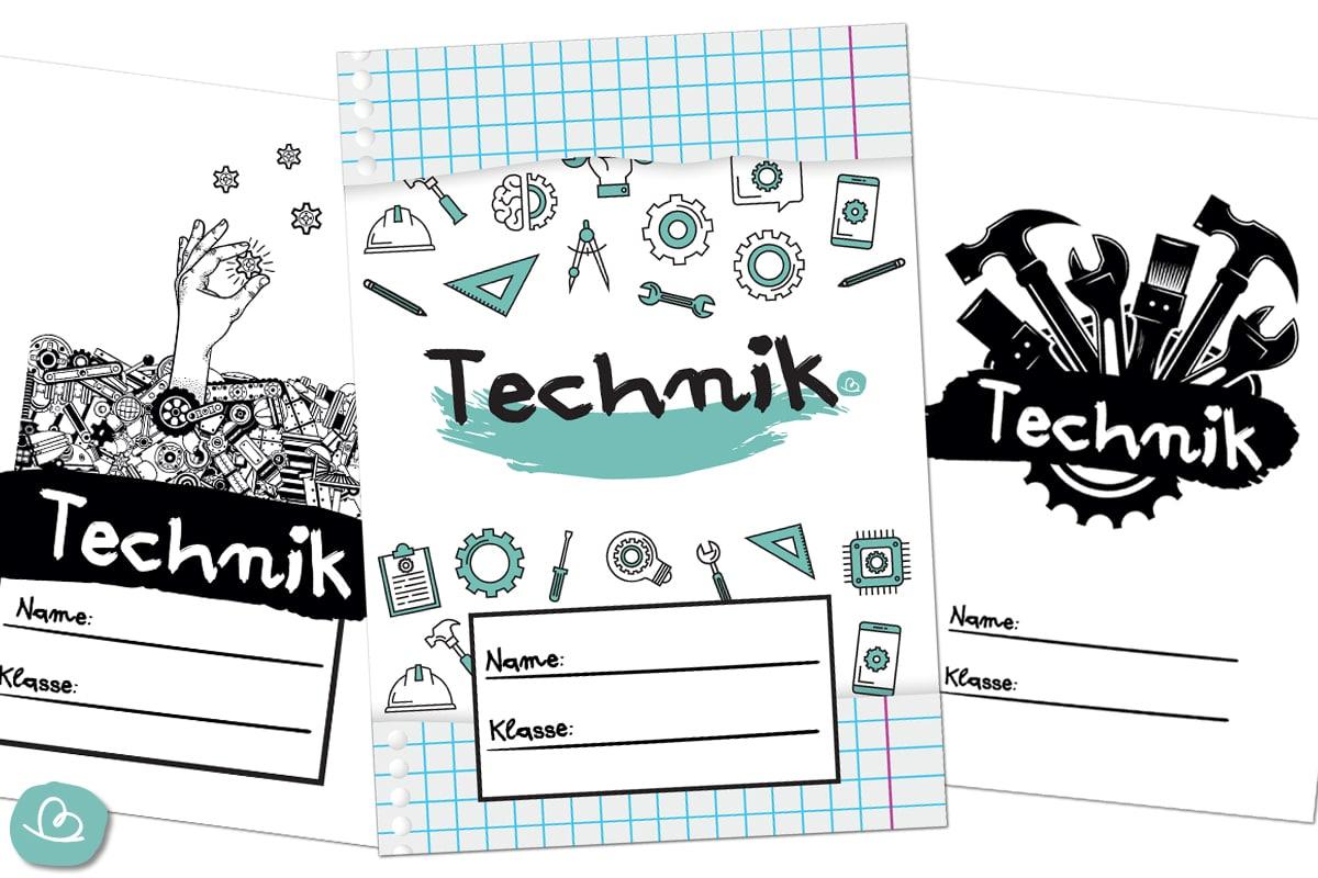 Deckblätter Technik