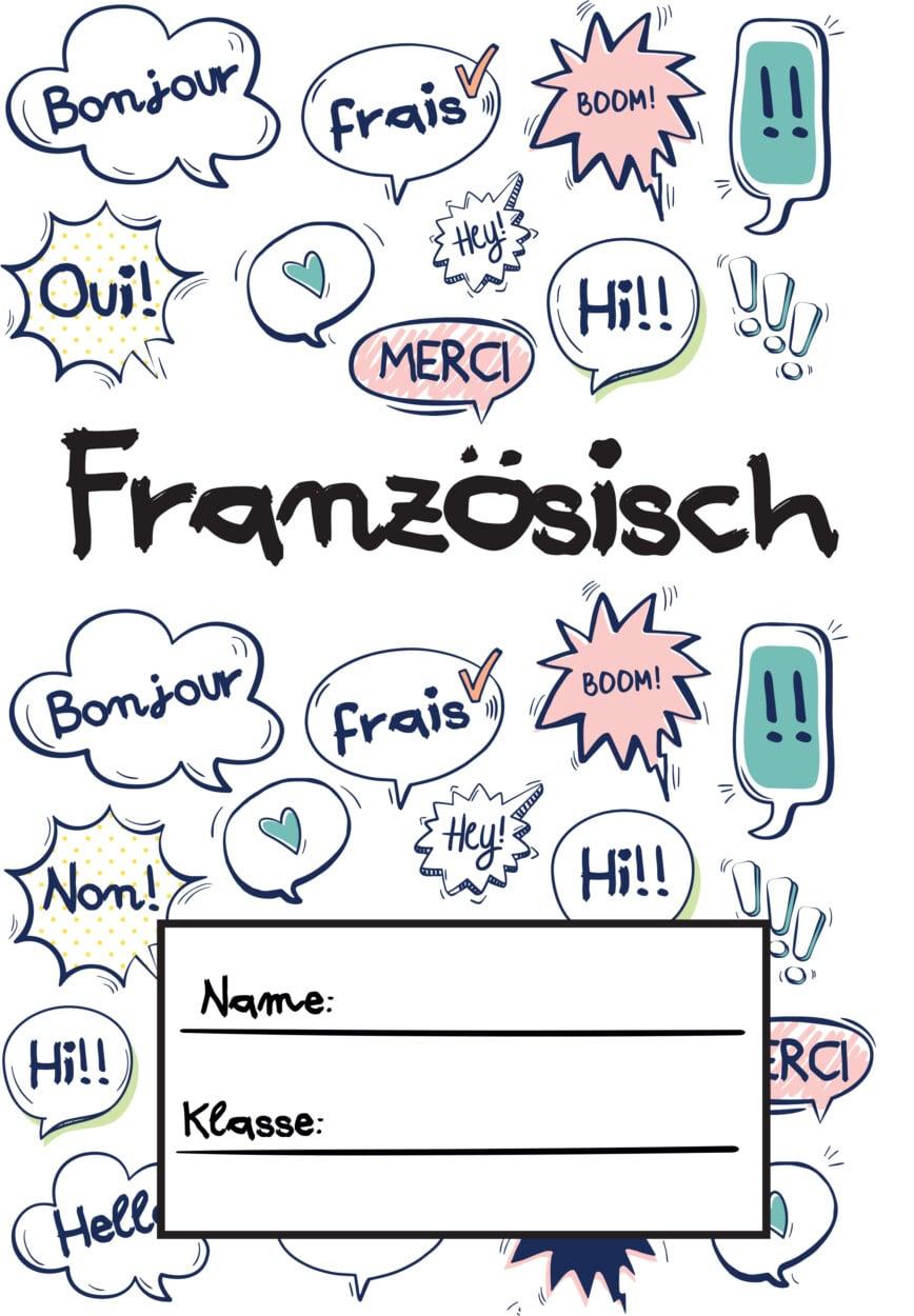 Französischdeckblatt