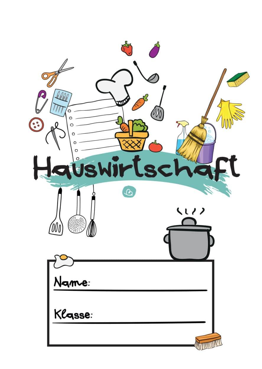 Hauswirtschaftsdeckblatt