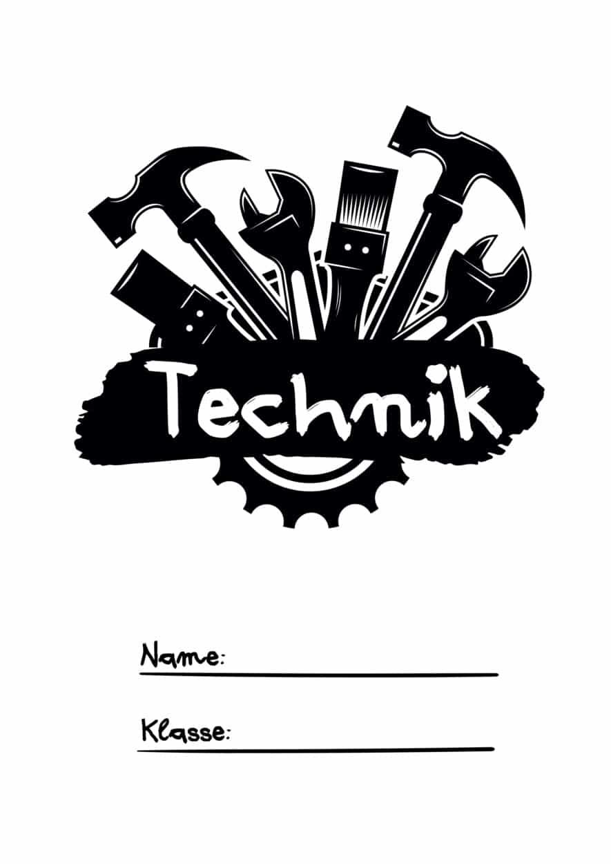 Technik Deckblatt