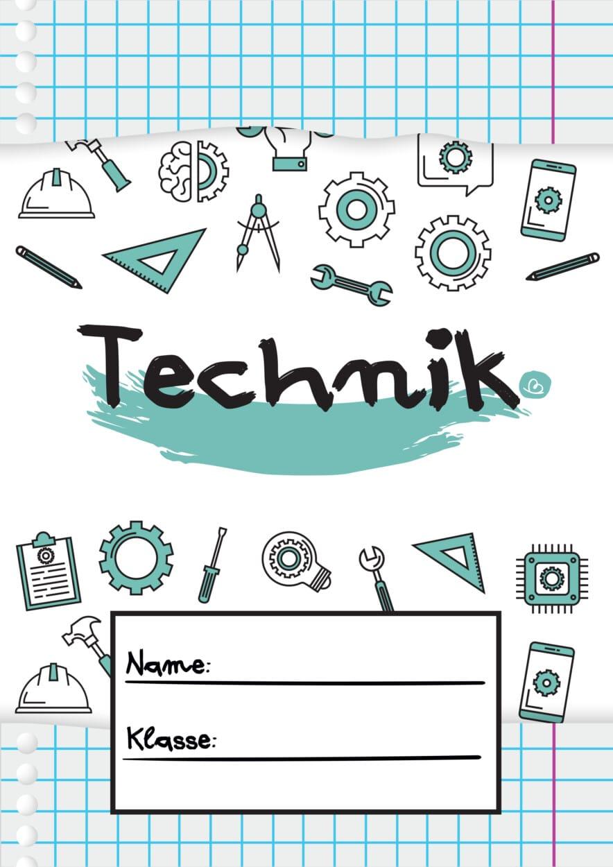 Technik Deckblätter