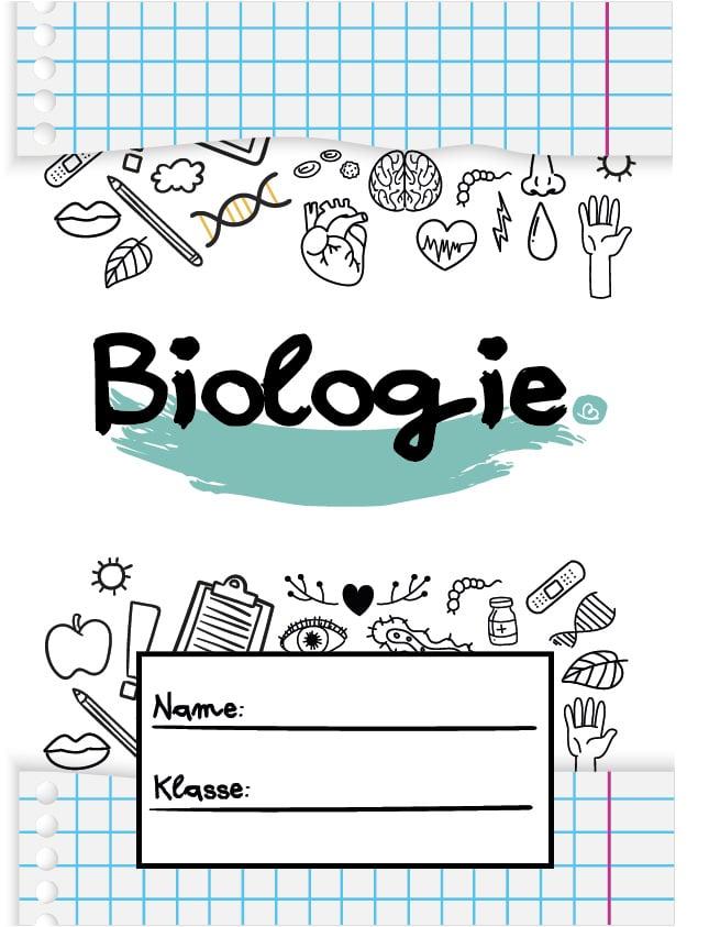 Deckblatt für die Schule