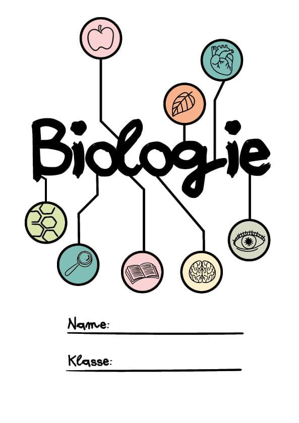 Deckblatt Bio Unterricht