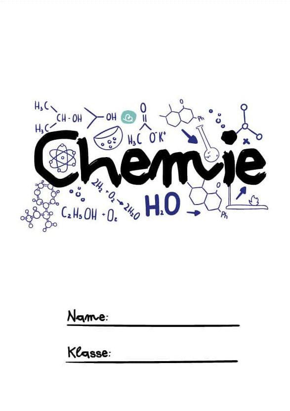 Chemieunterricht Druckvorlage