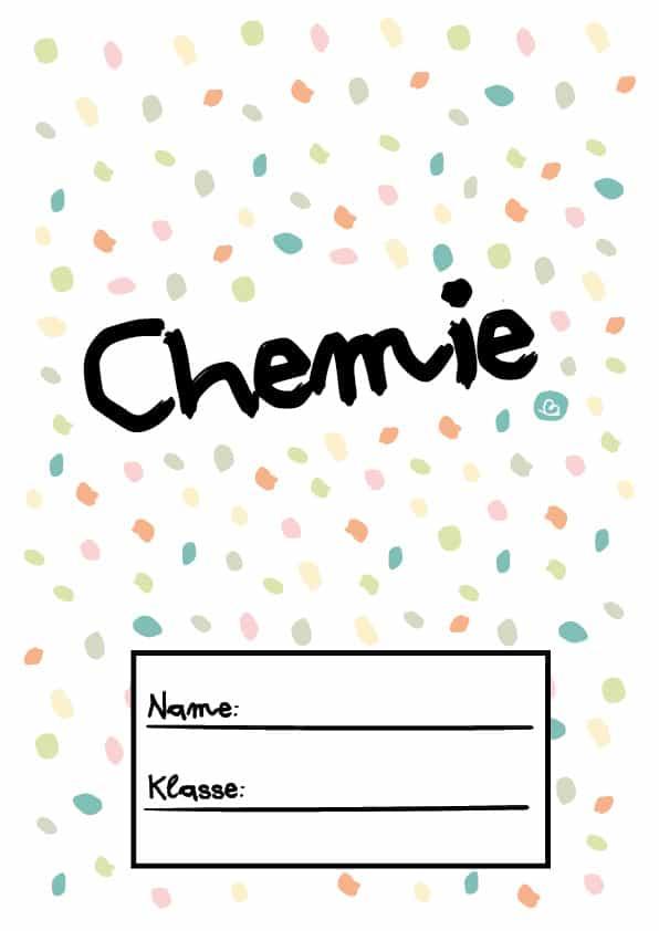 Deckblatt Chemie
