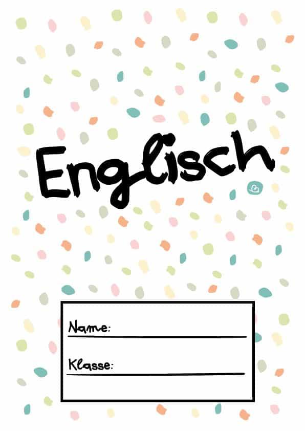 Deckblätter für die Schule