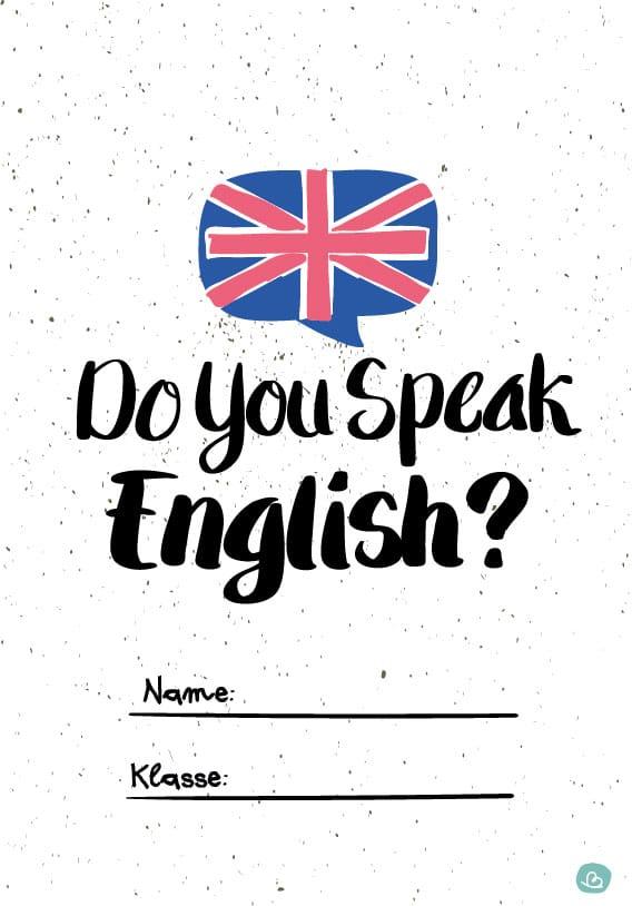 Do yo speak Englisch Druckvorlage