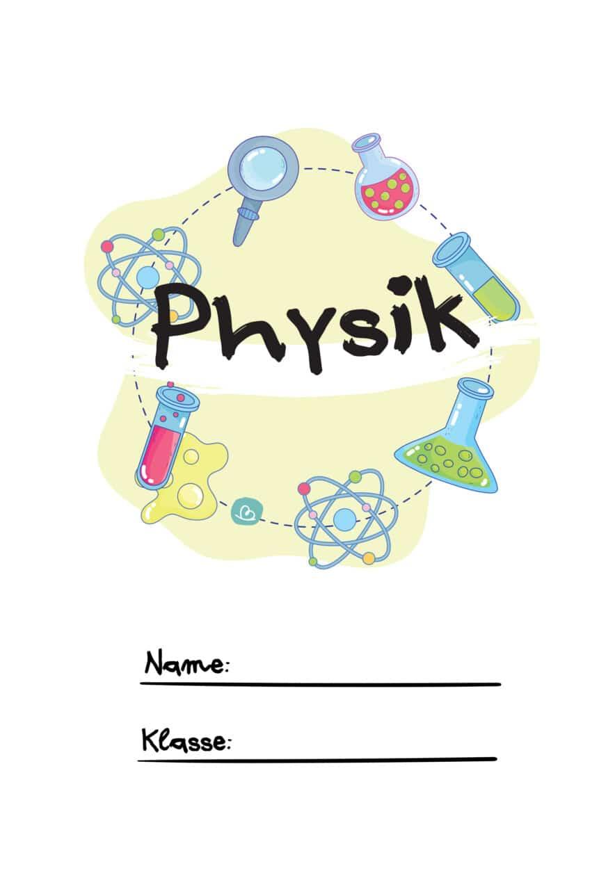 Physik Deckblatt