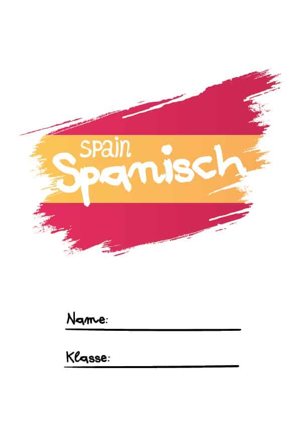 Deckblatt für Spanisch