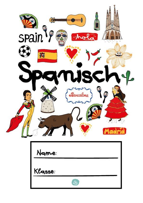 Deckblatt für spanische Sprache