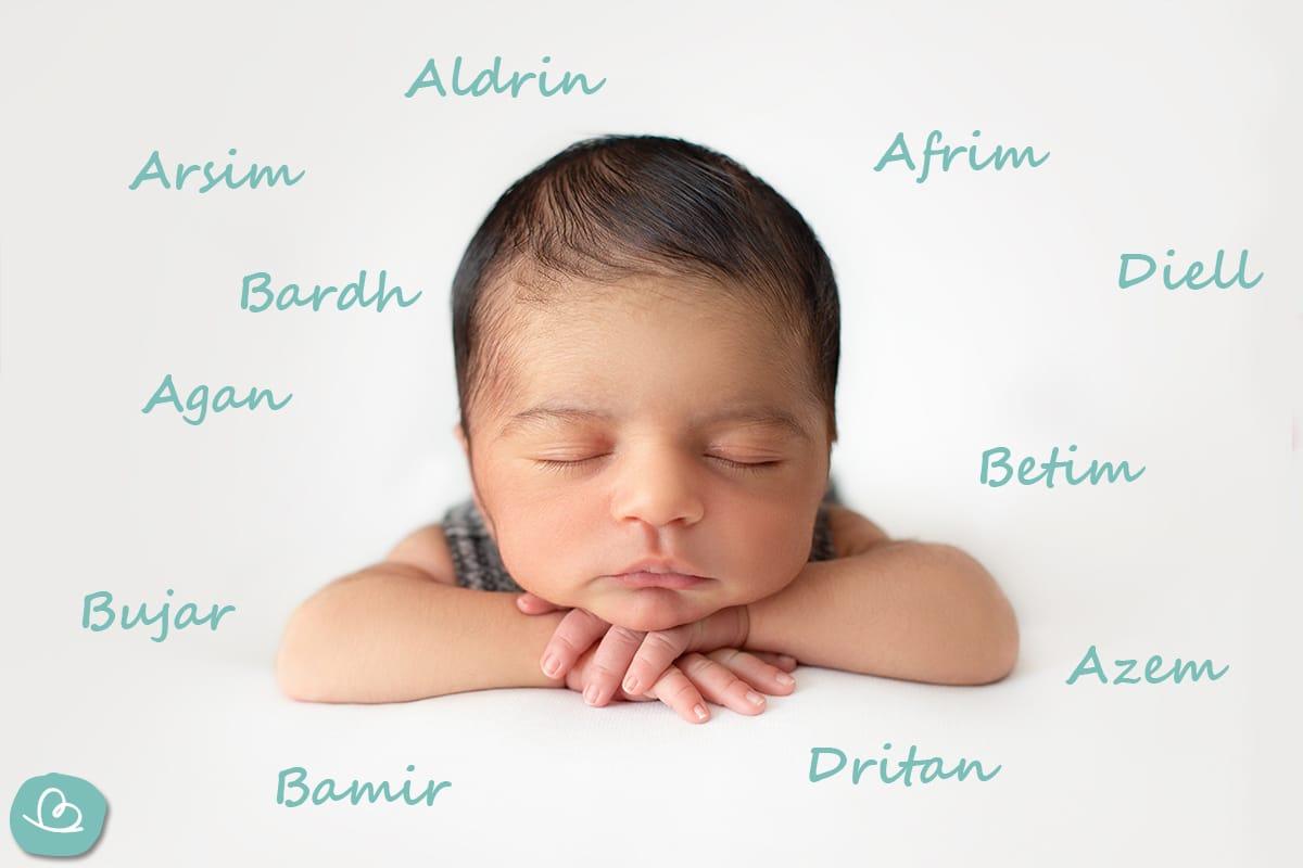 albanische Jungennamen von A-D