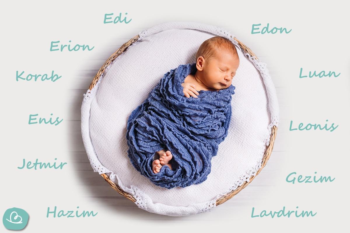 albanische Jungennamen von E-L