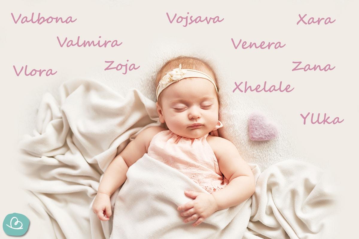 Mädchennamen aus Albanien