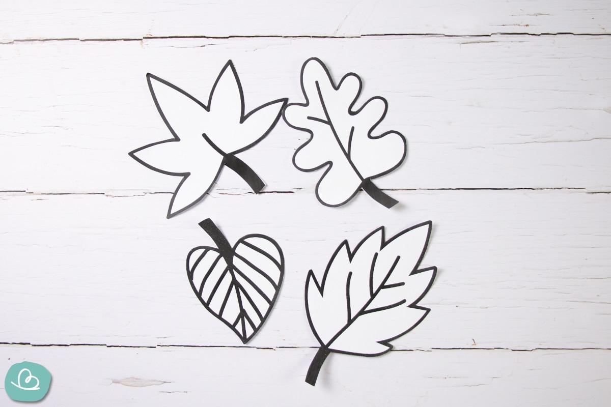 Blätter Vorlagen
