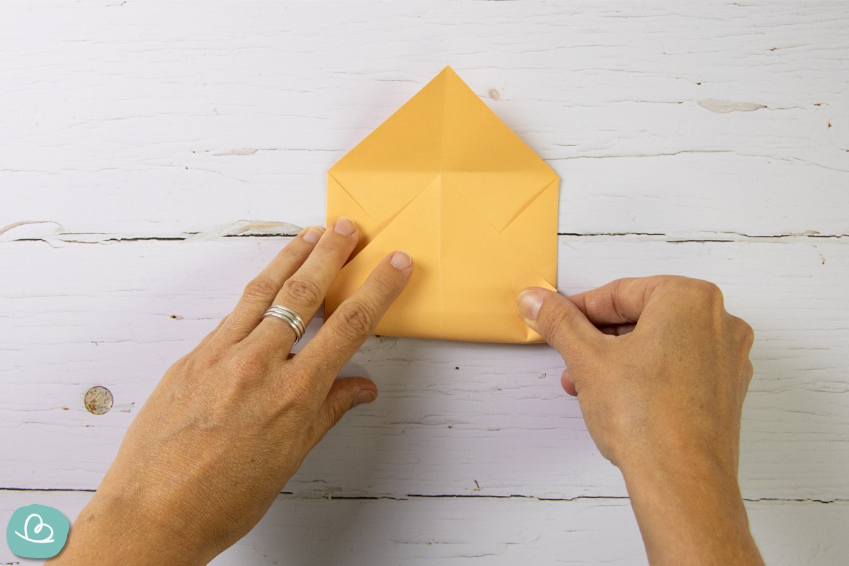 Briefumschlag Faltanleitung