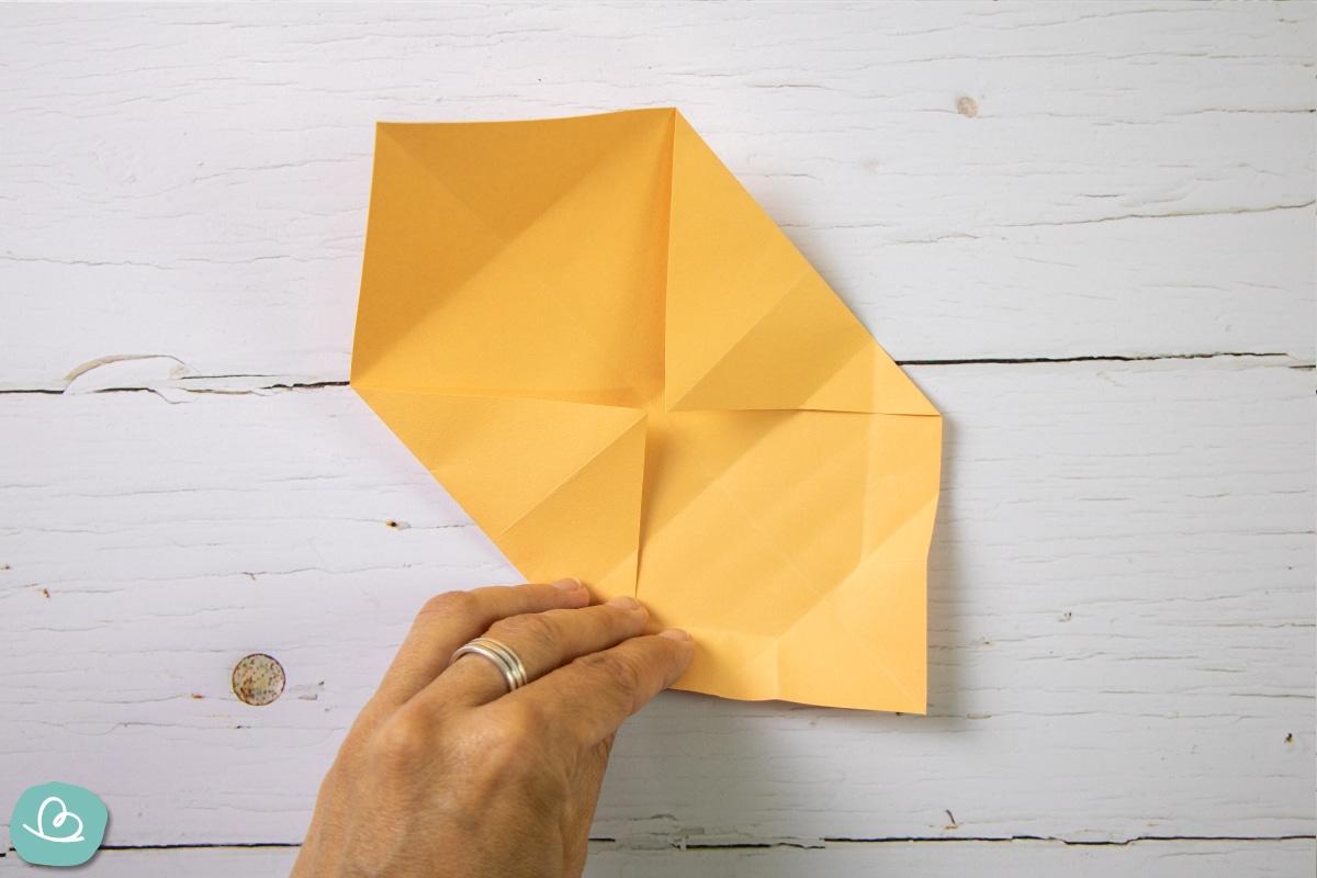 Basteln mit Papier.