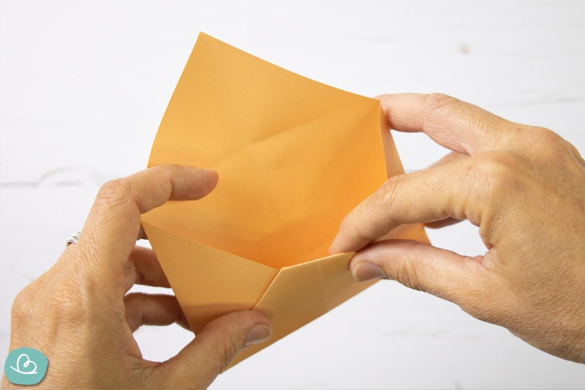 Briefumschlag selber basteln.