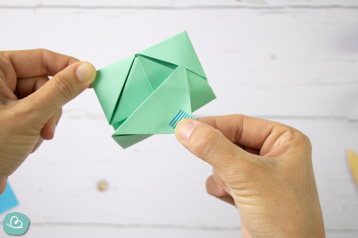 DIY Briefumschlag öffnen.