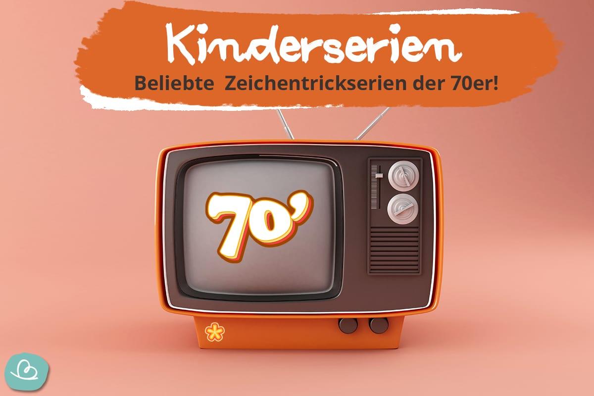 Beliebte Kinderserien und Zeichentrick 70er.