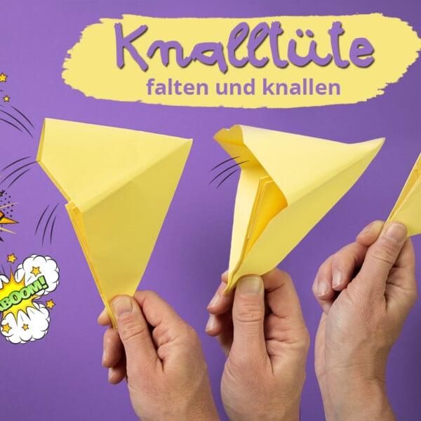 Knalltüte falten-Anleitung
