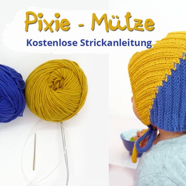 Zipfelmütze stricken | Anleitung für eine Pixie Mütze