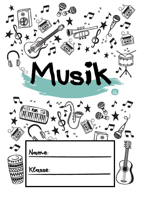 Deckblatt für Musikunterricht