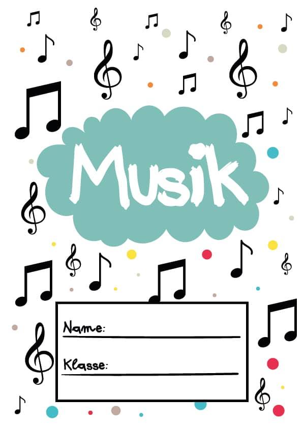 Deckblatt für Musik