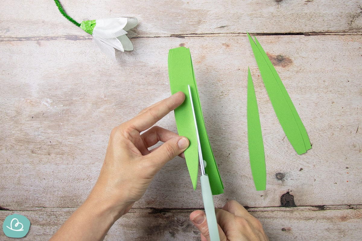 Blätter zuschneiden