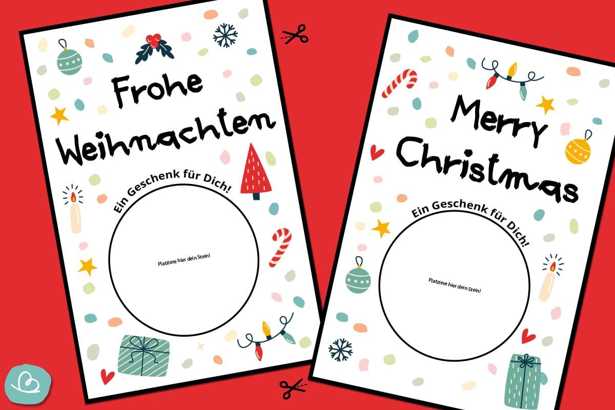 Vorlagen für Weihnachtskarten